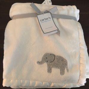 Cozy Elephant Baby Blanket